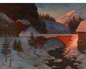 Winter Bridge - (SOLD)