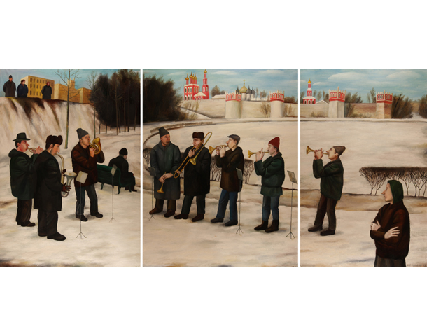 Triptych: Little Orchestra, 1989